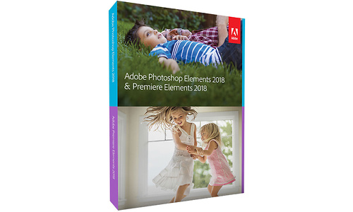 Adobe Photoshop Elements + Premiere Elements 2018 Minibox (EN)