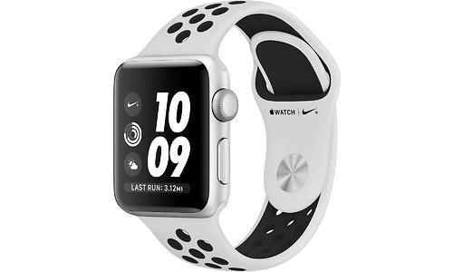 Apple Watch Nike+ 38mm Aluminium Silver Sport Loop Pure Platin/Black