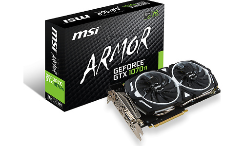 MSI GeForce GTX 1070 Ti Armor 8GB