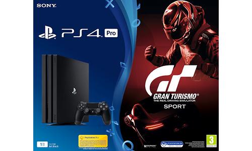 Sony PlayStation 4 Pro 1TB Black + GT Sport