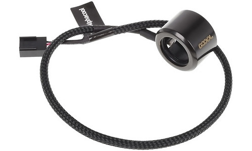 Alphacool Aurora HardTube LED Ring 16mm Deep Black/White