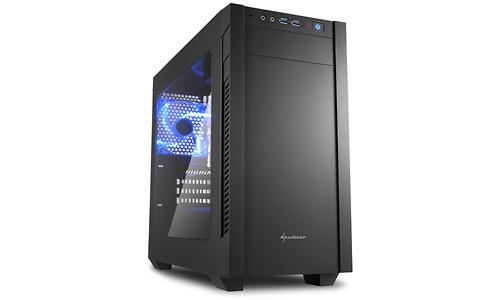 Sharkoon S1000 Window Acryl Black