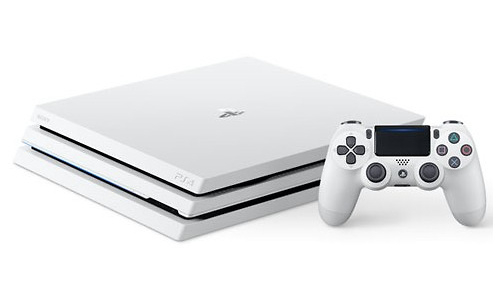 Sony PlayStation 4 Pro 1TB White + Controller
