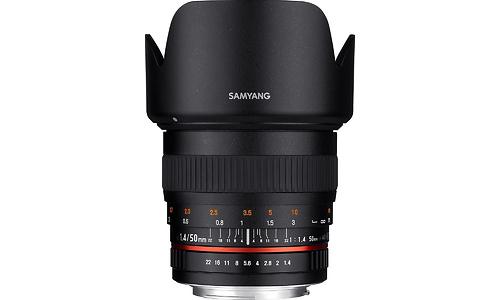 Samyang 50mm f/1.4 AS UMC Canon M