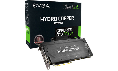 EVGA GeForce GTX 1080 Ti FTW3 Hydro Copper 11GB