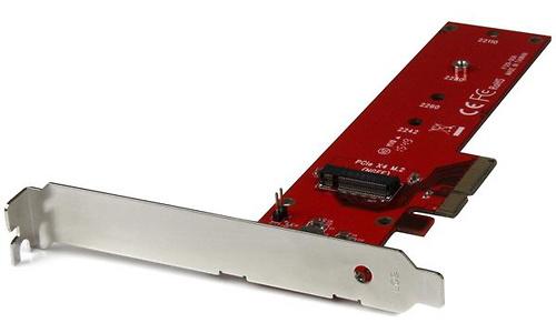 StarTech.com x4 PCI Express M.2 PCIe SSD-adapter