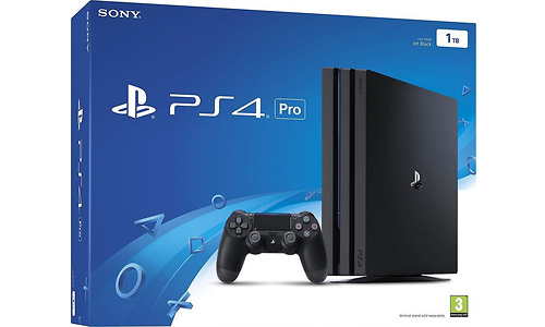 Sony PlayStation 4 Pro 1TB Black + Controller