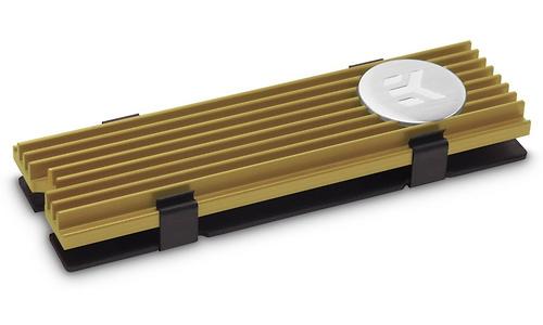 EK Waterblocks EK-M.2 NVMe Heatsink Gold
