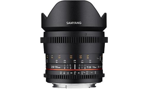 Samyang 16mm f/2.6 VDSLR ED AS UMC Sony E