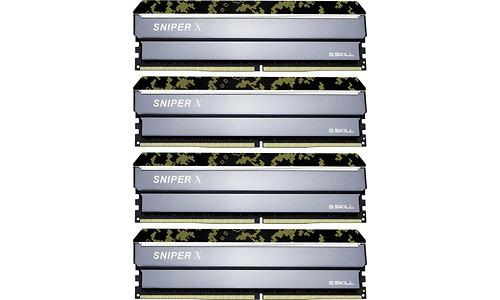 G.Skill SniperX Digital Camouflage 32GB DDR4-3200 CL16 quad kit