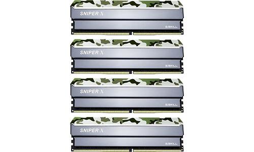 G.Skill SniperX Classic Camouflage 64GB DDR4-3200 CL16 quad kit