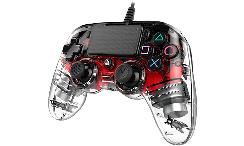 Nacon PS4 Official Wired LED Controller Red