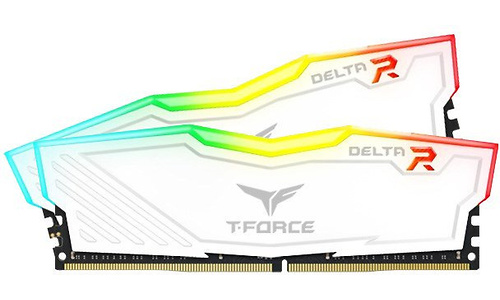 Team T-Force Delta RGB White 16GB DDR4-2666 CL15 kit