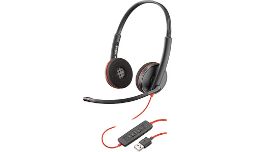 Plantronics Blackwire C3220 USB on-ear Black