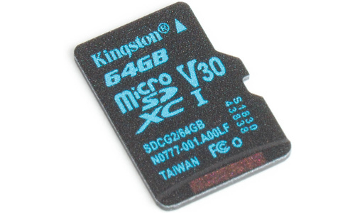 Kingston Canvas Go MicroSDXC UHS-I U3 64GB