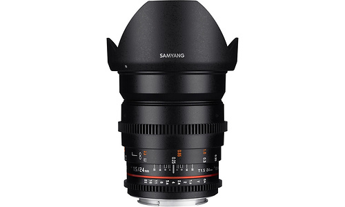Samyang 24mm f/1.5 VDSLR ED AS IF UMC II