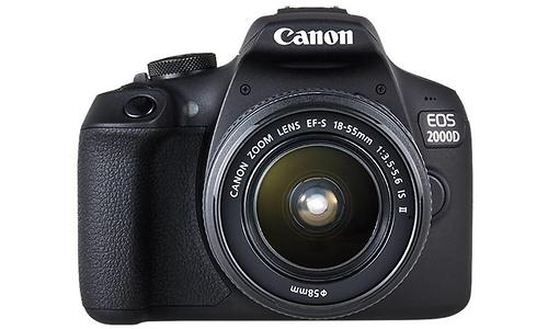 Canon Eos 2000D 18-55 + 75-300 kit