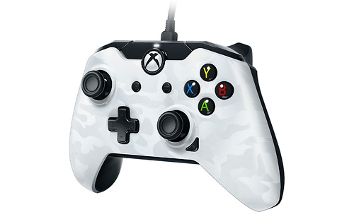 PDP Wired Controller Xbox One / PC White Camo