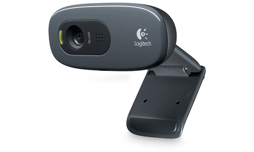 Logitech C270 HD Webcam Black