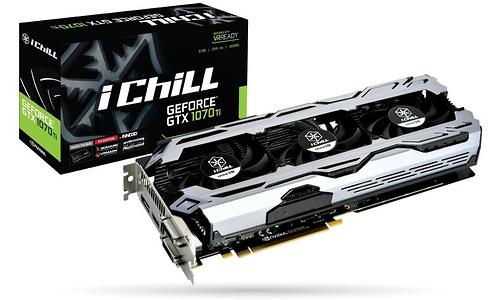Inno3D GeForce GTX 1070 Ti iChill X3 V2 8GB