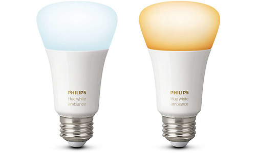Philips Hue White Ambiance E27 2pk