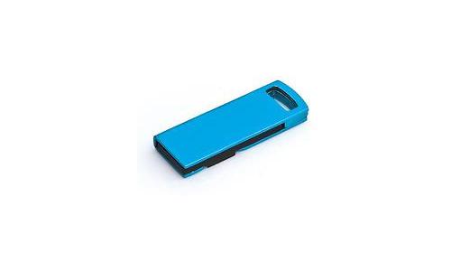 MicroMemory Slide USB2.0 1GB Blue