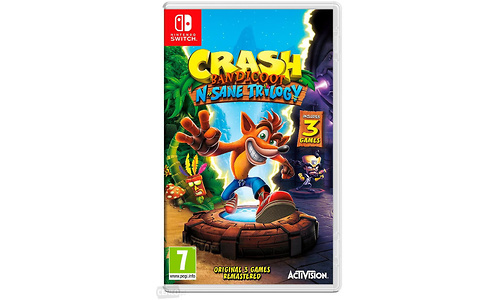 Crash Bandicoot N.Sane Trilogy (Nintendo Switch)