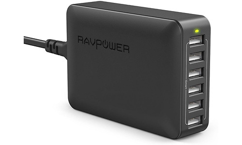 RAVPower 60W 6-Port USB Charger