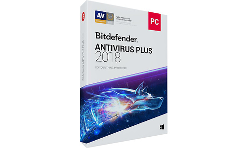 Bitdefender Antivirus Plus 2018 3-user 2-year