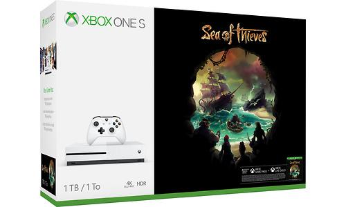 Microsoft Xbox One S 1TB White + Sea of Thieves