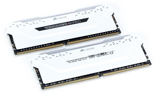 Corsair Vengeance RGB Pro White 16GB DDR4-3200 CL16-18-18-36 kit