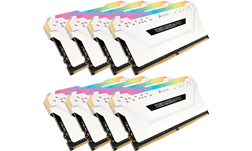 Corsair Vengeance RGB Pro White 64GB DDR4-3600 CL18 octo kit