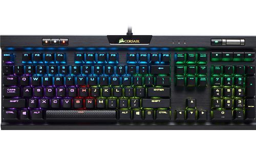 Corsair K70 RGB MK.2 RGB Cherry MX-Brown Black (US)