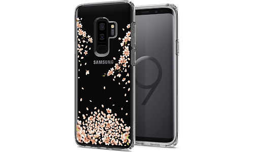 Spigen Liquid Crystal Cover Galaxy S9 Plus Blossom Clear