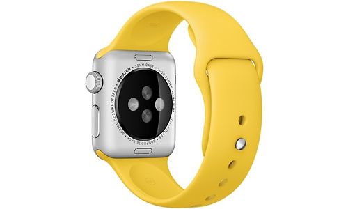 Apple Watch 38mm Yellow Sport Band