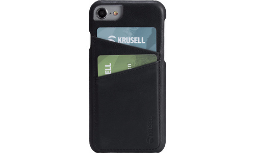 Krusell Sunne Card Apple iPhone 8 Back Cover Black