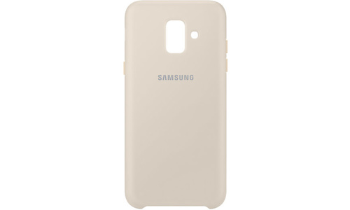 Samsung Dual Layer Cover Galaxy A6 gold