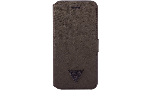 Guess Brad Collection Book Type Case for iPhone 6/6S, Brown