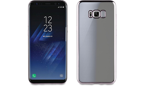 Muvit Cover Case for Samsung Galaxy S8 Plus Titanium
