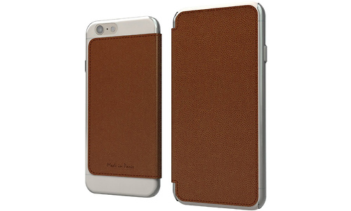 Muvit Made In Paris for iPhone 6, Brown