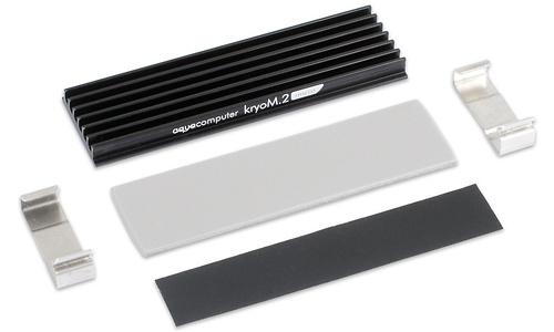 Aqua Computer Kryom. 2 Passive Cooler for M.2 2280 SSD