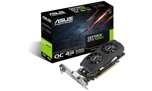 Asus GeForce GTX 1050 Ti OC LP 4GB