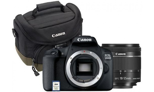 Canon Eos 2000D 18-55 Value Up kit
