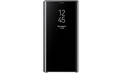 Samsung Galaxy Note 9 Clear View Stand Book Case Black