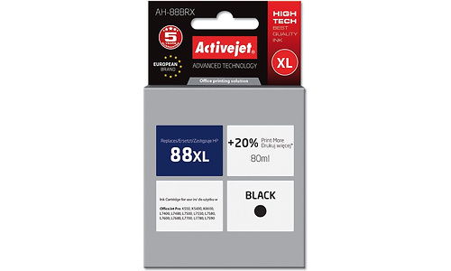 ActiveJet AH-88BRX 80ml Black