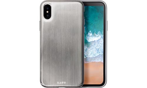 Laut Huex Metallic Apple iPhone X Back Cover Silver