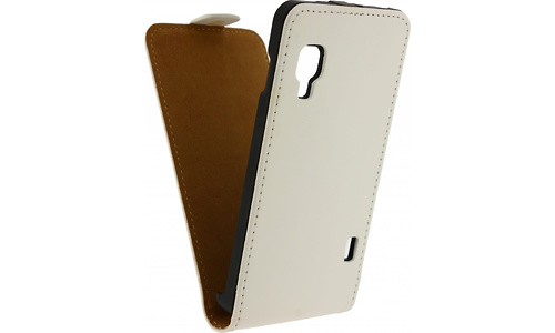 Mobilize Ultra Slim Flip Case LG Optimus L5 II E460 White