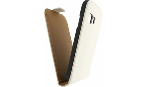 Mobilize Ultra Slim Flip Case Samsung Galaxy Young 2 White