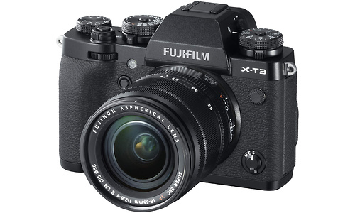 Fujifilm X-T3 18-55 kit Black