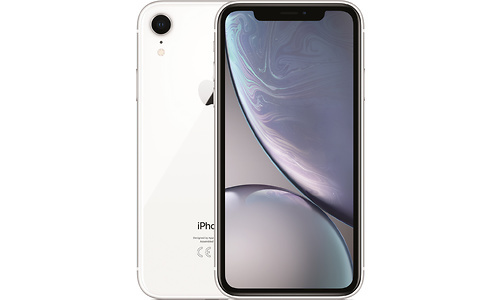 Apple iPhone Xr 128GB White (USB-A/Charger/Headphones)